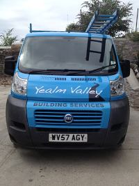 Yealm Valley Building Services Van